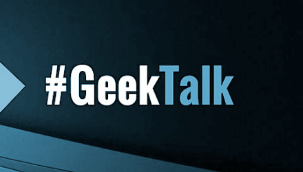 #GeekTalk Podcast Interview-Folgen Label