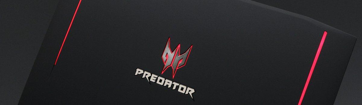 Acer Predator 15 - Slider