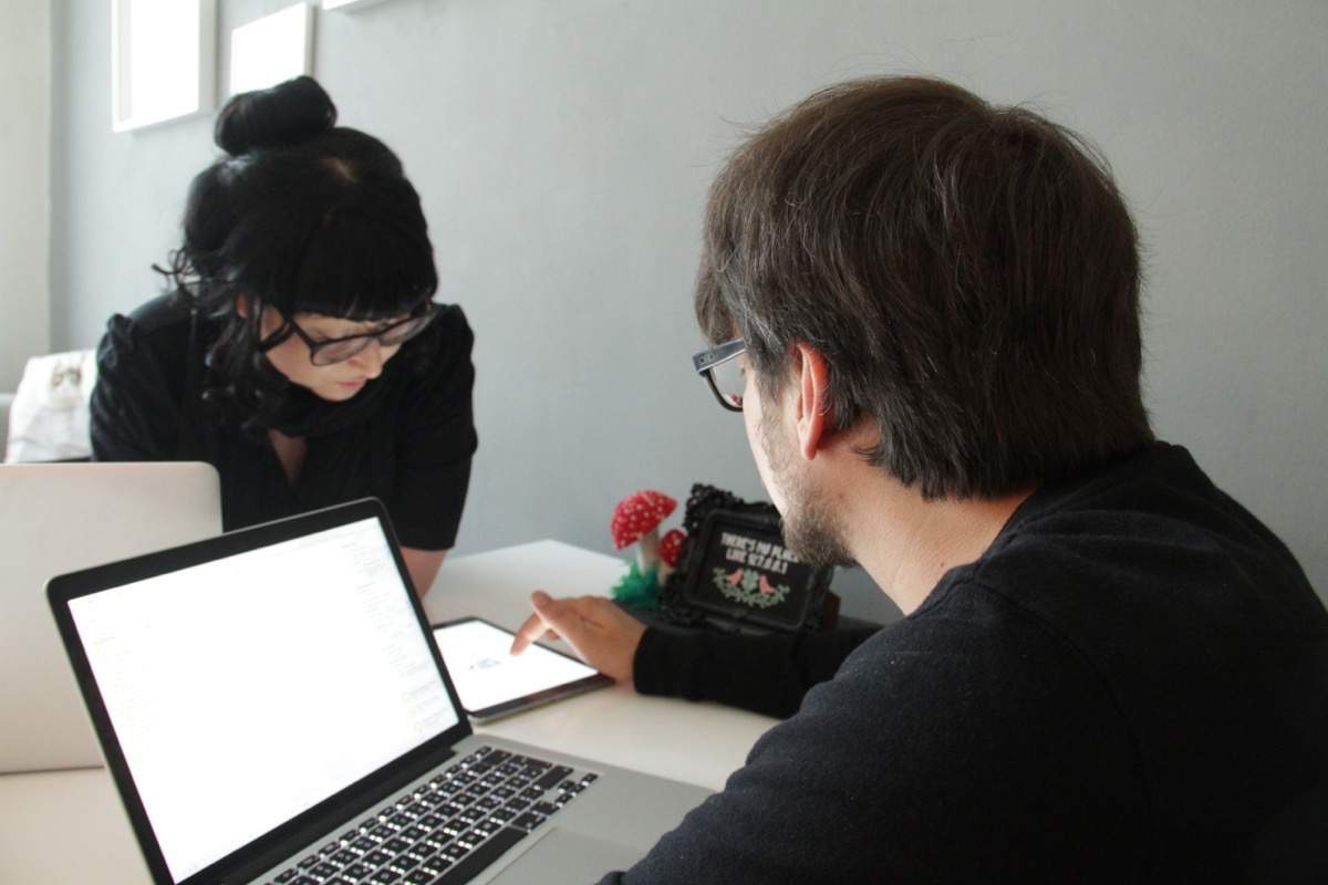 Aga und Marcel - Coding Monkeys