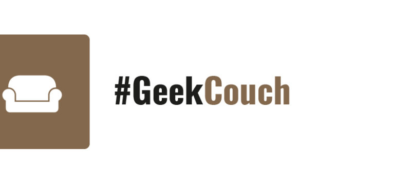 #GeekTalk #GeekCouch Label