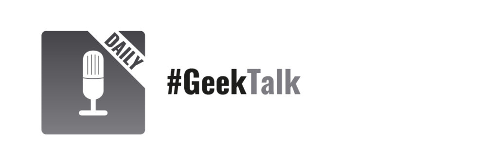 #GeekTalk Daily Label
